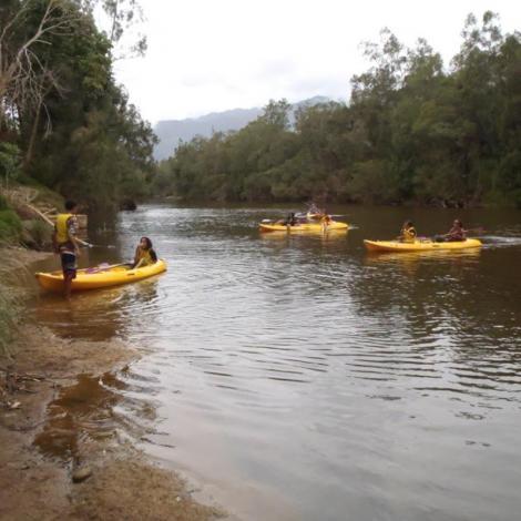 Location de kayak 1/2 Journée le matin