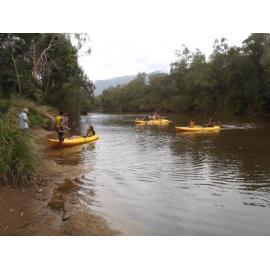 Excursion à l'embouchure de la Tontouta